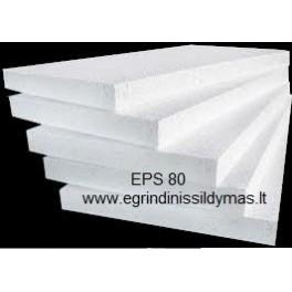 Putų polistirolas EPS 80 5cm (m2)